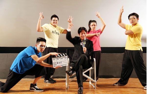 本系受邀南方影展開幕表演與台南市長合作演出